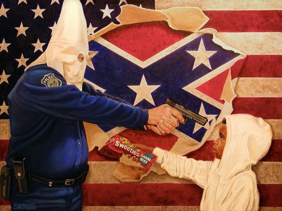 art for trayvon